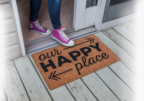 Happy Place Doormat